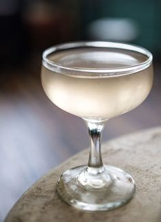 La Mome      1 1/2 ounces pisco, rose-infused (preferably Encanto, see Editor's Note below)     1 1/2 ounces dry vermouth (preferably Dolin)     1 teaspoon grappa (preferably Clear Creek Pinot Grigio)     1 teaspoon apricot liqueur