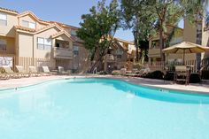 Pacific Bay Club - Pheonix, Arizona - Relax outside in this luxurious pool.