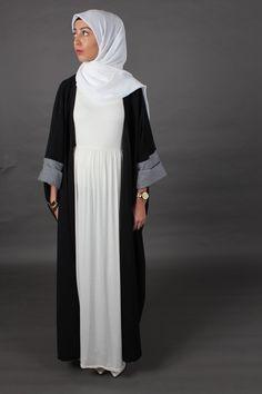 Création abaya ALYSA noir