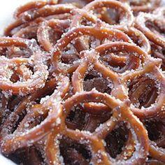 Cinnamon Sugar Pretzels - My Honeys Place