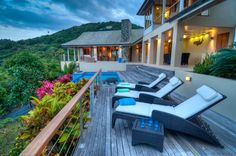 This backyard is in the running for most beautiful in the world. Tortola, British Virgin Islands Coldwell Banker Real Estate, BVI $4,000,000
