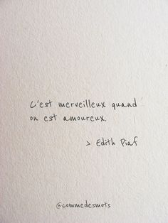Quote Of The Day, Jolie Phrase, French Quotes, Tattoo Quotes, Love Quotes, Language, Journal, Words, Table