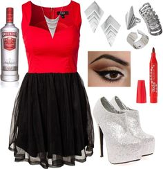"""NYE 13"" by k-cat on Polyvore"