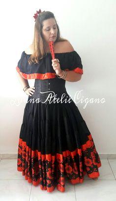 Gypsy, Flamenco Skirt, Daisy Mae, Belly Dance, Anna, Boho, Female, Sewing, Drawings