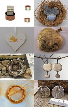 Make New Friends...Silver and Gold by Susan on Etsy--Pinned with TreasuryPin.com