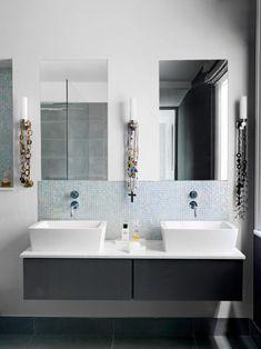 Cool Bathroom Tile Ideas: From Metro Tiles To Fish Scale & Herringbone