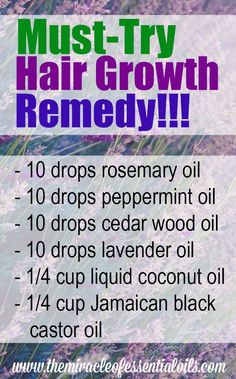 go-to natural remedy for hair growth is using Nature's most powerful essential oils. These precious liquids are high concentrated in powerful compounds that accelerate hair growth. You can make your own essential oil blend for hair growth at home. Hair Remedies For Growth, Hair Growth Treatment, Thinning Hair Remedies, Essential Oils For Hair, Essential Oil Blends, Natural Hair Care, Natural Hair Styles, Natural Oils For Hair, Lavender Oil For Hair