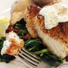 Crispy Baked Fish - Sweet Treat Eats