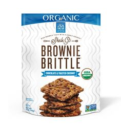 Organic Chocolate & Toasted Coconut Brownie Brittle - 5oz