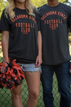 Oklahoma State football club unisex t-shirt