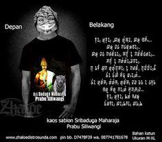 Kaos Sunda Sribaduga Maharaja Prabu Siliwingi