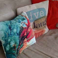 Blue and Brown Pillows Blue Pillow Covers Cushions Throw Purple Pillow Covers, Purple Throw Pillows, Orange Pillows, Cushion Covers, Throw Pillow Covers, Brown Pillows, Brown Throws, Beige Cushions, Material