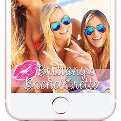 Snapchat Geofilter - Custom-made Bachelorette Geofilter - Snapchat - Bride Tribe - Wedding - Bridal Geofilter