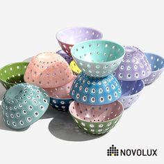 Guzzini Grace Mix /& Serve Acrylic Bowl and Serving Utensils 3-Piece Salad Set