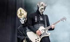 Papa Emeritus III & Nameless Ghoul