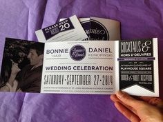 Custom Fold Wedding Invitation by TheDesignBrewery on Etsy, $2.95
