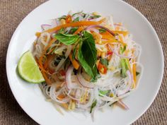 Fourth course: Salads (Non-Veg) Another amazing summer option is the Asian glass noodle salad, rich in nutrients and light on health!  #Salad #Summer2014