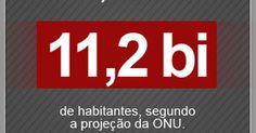 ONU prevê que Brasil deve ter redução da população até 2100