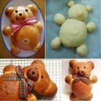 Çocuklar için sevimli ekmek