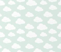 Wallpaper Clouds – Mint