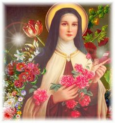 Saint Therese of Lisieux, Little Flower