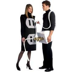 Adult Plug & Socket Couple Costume