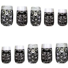 Fancy French Maid Nails - Party City