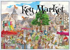 Key Market from the Key Series of Games by Richard Breese.