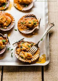 Canapes, Tapas, Yummy Food, Yummy Yummy, Seafood, Food Photography, Food And Drink, Chips, Favorite Recipes