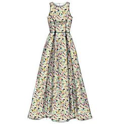 Misses Dresses McCalls Pattern 6953 - Equal Tutorial and Ideas Dress Design Drawing, Dress Design Sketches, Dress Drawing, Fashion Design Drawings, Fashion Sketches, Fashion Drawing Dresses, Fashion Dresses, Modelos Fashion, Miss Dress