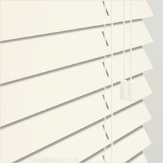 50mm Alpine White Wooden Blind