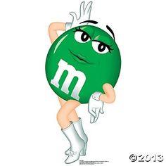 Green m&m tatt