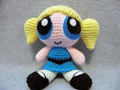 ~~~~Promotion~~~~ Crochet Amigurumi Free Patterns, Crochet Dolls, Power Puff Girls Bubbles, Bubbles 3, Crochet Round, Powerpuff Girls, Crochet Projects, Creations, Crafts