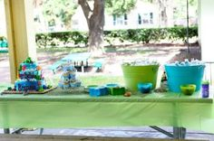 Just completed service at this birthday fiesta in Laguna Beach and