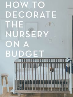 Adorable DIY nursery decor ideas that won't break the bank!