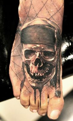 Tattoo Artist - Miguel Bohigues | www.worldtattoogallery.com/skull-tattoo