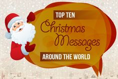Top ten christmas messages around the world all about christmas top ten christmas messages around the world all about christmas pinterest christmas messages and holidays m4hsunfo