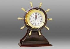 Chelsea U S Marine Corps Mariner Limited Edition Ship's Bell Clock