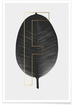 Plants F en Affiche premium par typealive | JUNIQE