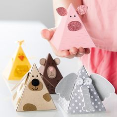 Pyramid Pals Thinlits Dies by Stampin' Up!
