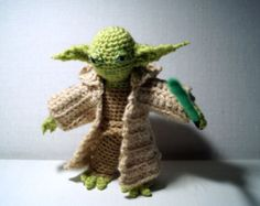 Yoda Hat Crochet Pattern for your Yoda Costume! Only NOW: Buy Yoda Hat Pattern and get one FREE Yoda Gloves Pattern. Great powers we sense in