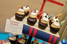 School is Cool Cupcakes www.spaceshipsandlaserbeams.com