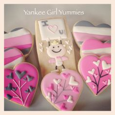 Valentine's Day Cookies by yankeegirlyummies
