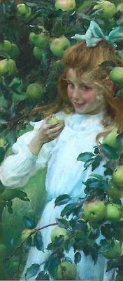 Charles Courtney Curran (1861-1942) {don't eat too many!}