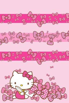 Hello Kitty iPhone wallpaper
