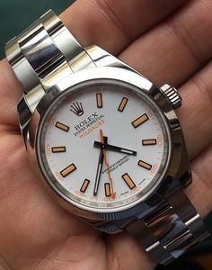 ROLEX MILGAUSS WATCH WITH WHITE COLOR DIAL, 116400 MODEL - BOX AND BOOKLETS   #Rolex #Milgauss