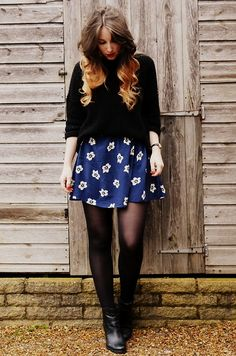 Hearts & Bows Jumper, Primark Dress, Gap Boots, Urban Outfitters Watch