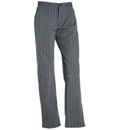 Nybo Workwear Damekokkebukser, Fandango, sort/grå stribet - Billig-arbejdstøj.dk