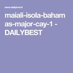maiali-isola-bahamas-major-cay-1 - DAILYBEST