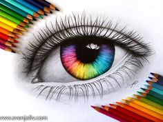 Beautiful Art Drawing Coloring Eye - What Is Your True Eye Color Eye Art Color Pencil Art Colorful Eye Colored Pencil Drawing By Parvaaz Coloredpencils Eyes Eye Eye Drawing Color At Paint. Amazing Drawings, Beautiful Drawings, Colorful Drawings, Amazing Art, Beautiful Images, Colourful Art, Awesome, Pencil Art Drawings, Art Drawings Sketches